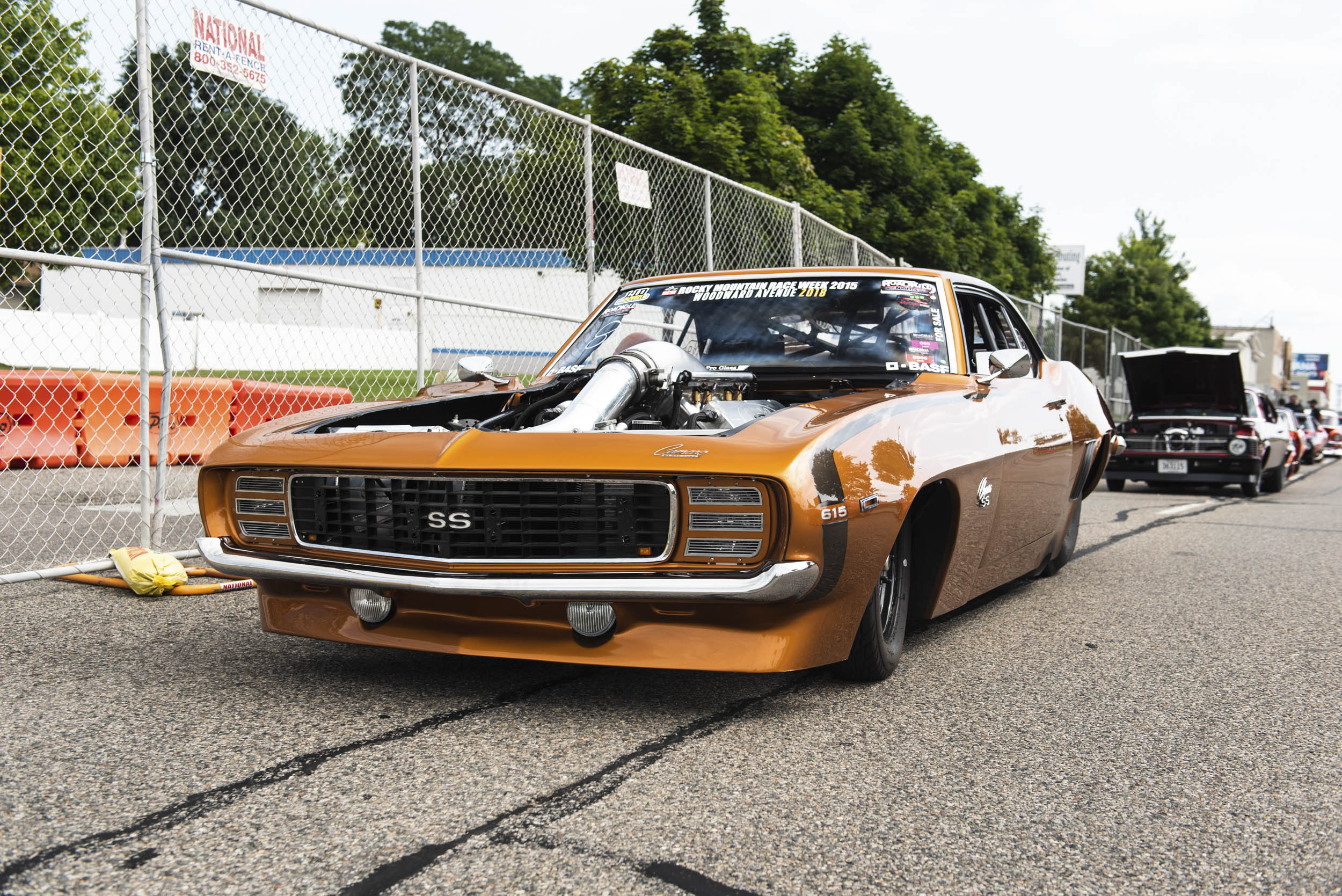 Blown out Camaro SS 615