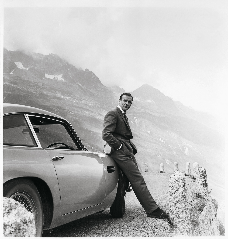 """Goldfinger"" Aston Martin DB5 sean connery"