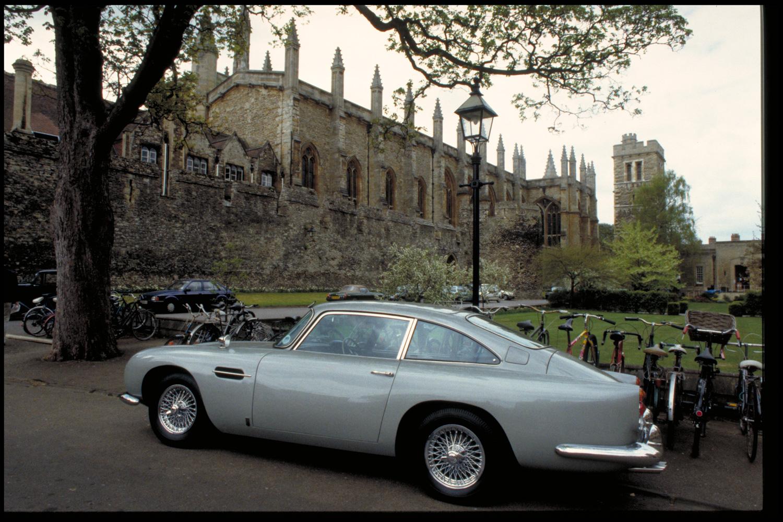 """Goldfinger"" Aston Martin DB5 bikes"