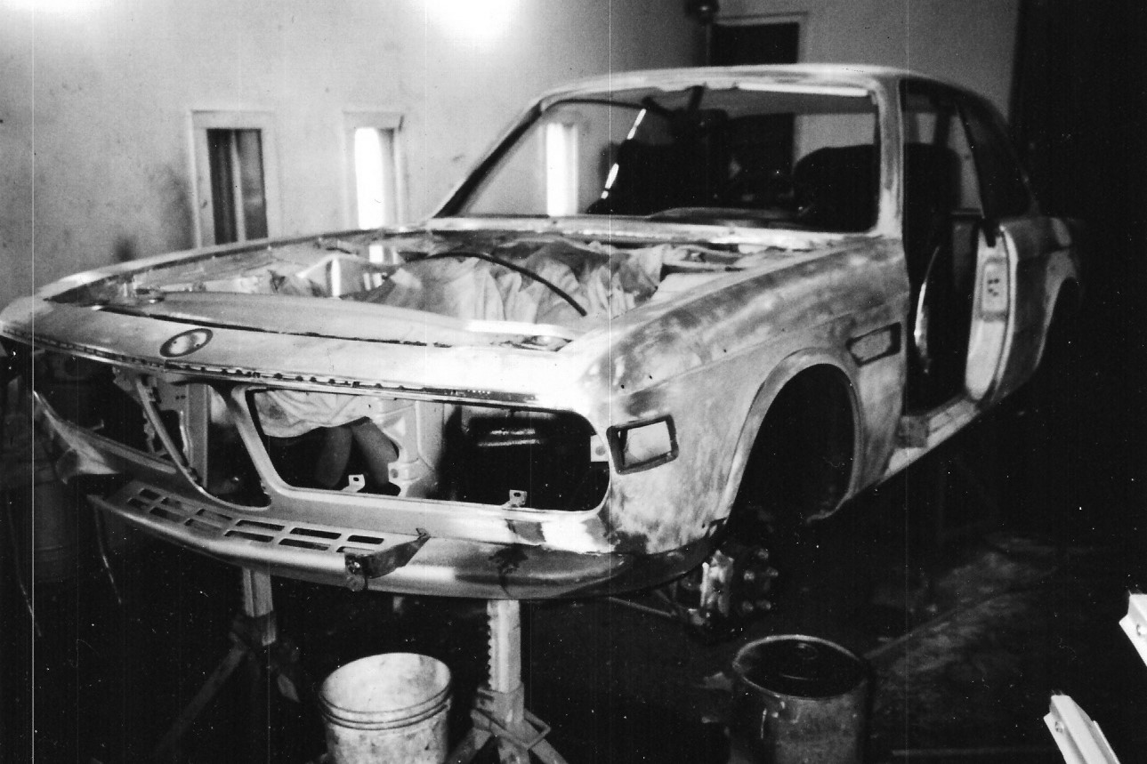bmw The E9 reduced to sheet metal.