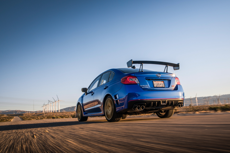 Subaru WRX STI Type RA rear 3/4 wing