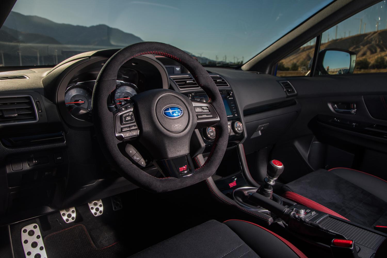 Subaru WRX STI Type RA interior