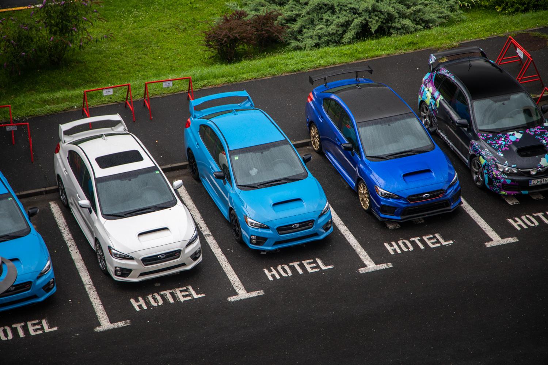 Subaru WRX STI Type RA lineup