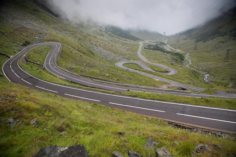 Romania's Transfagarasan Highway