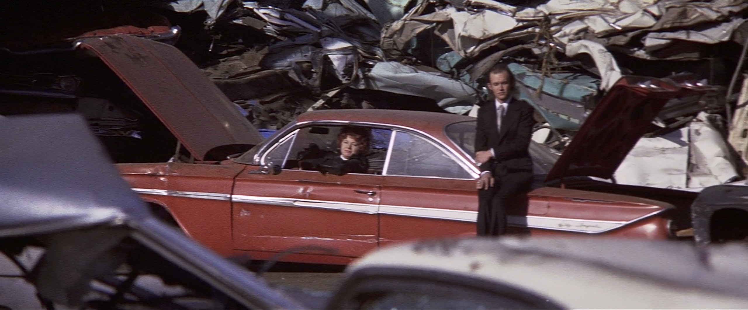 Cleopatra Jones end junk yard scene