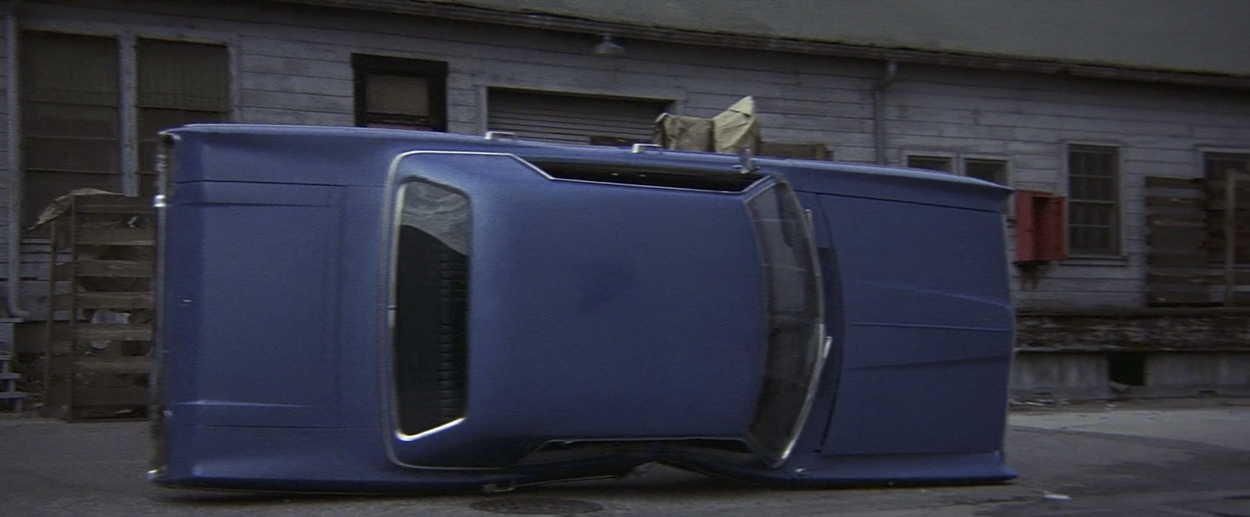 Car flip Cleopatra Jones