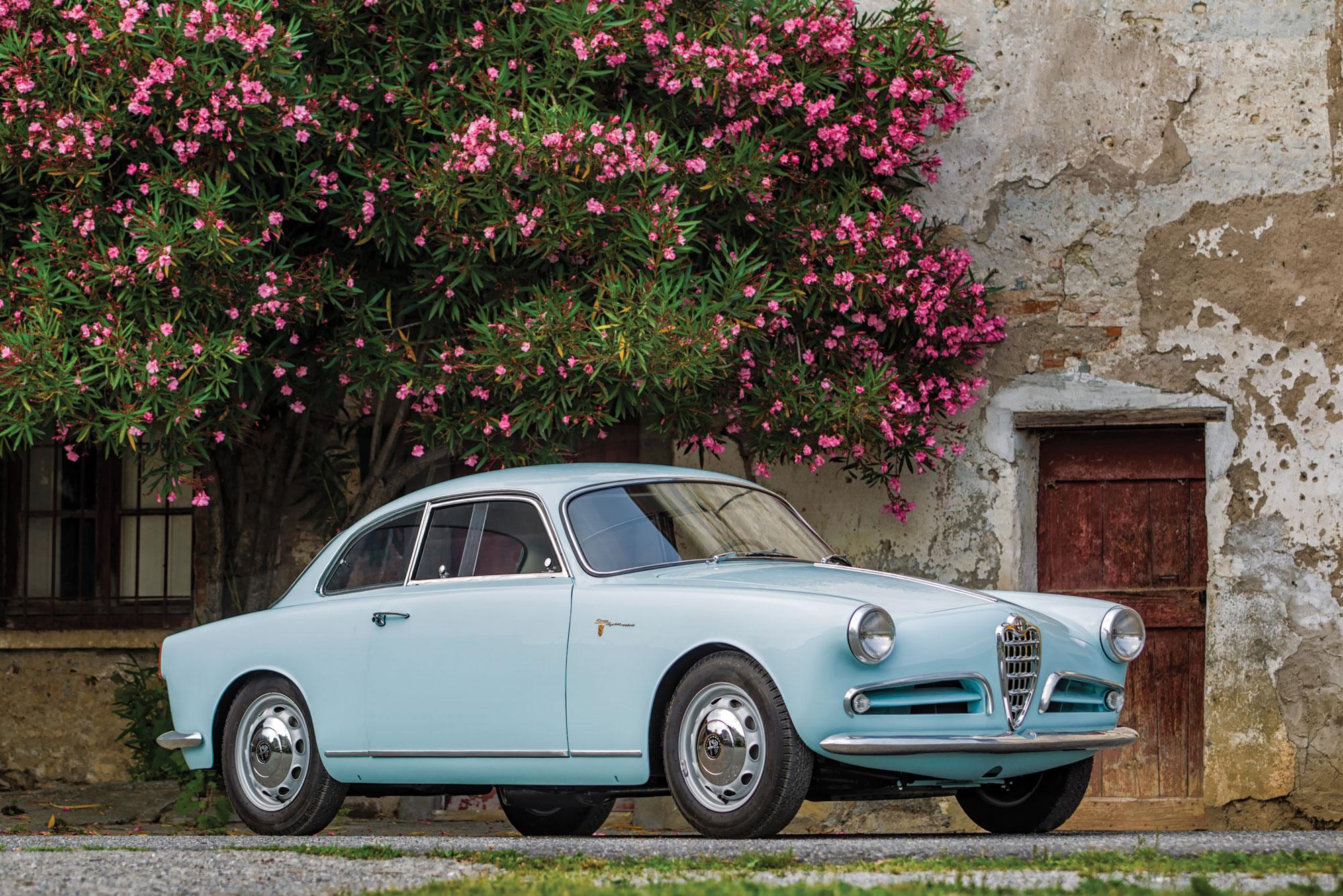 1957 Alfa Romeo Giulietta SV Alleggerita