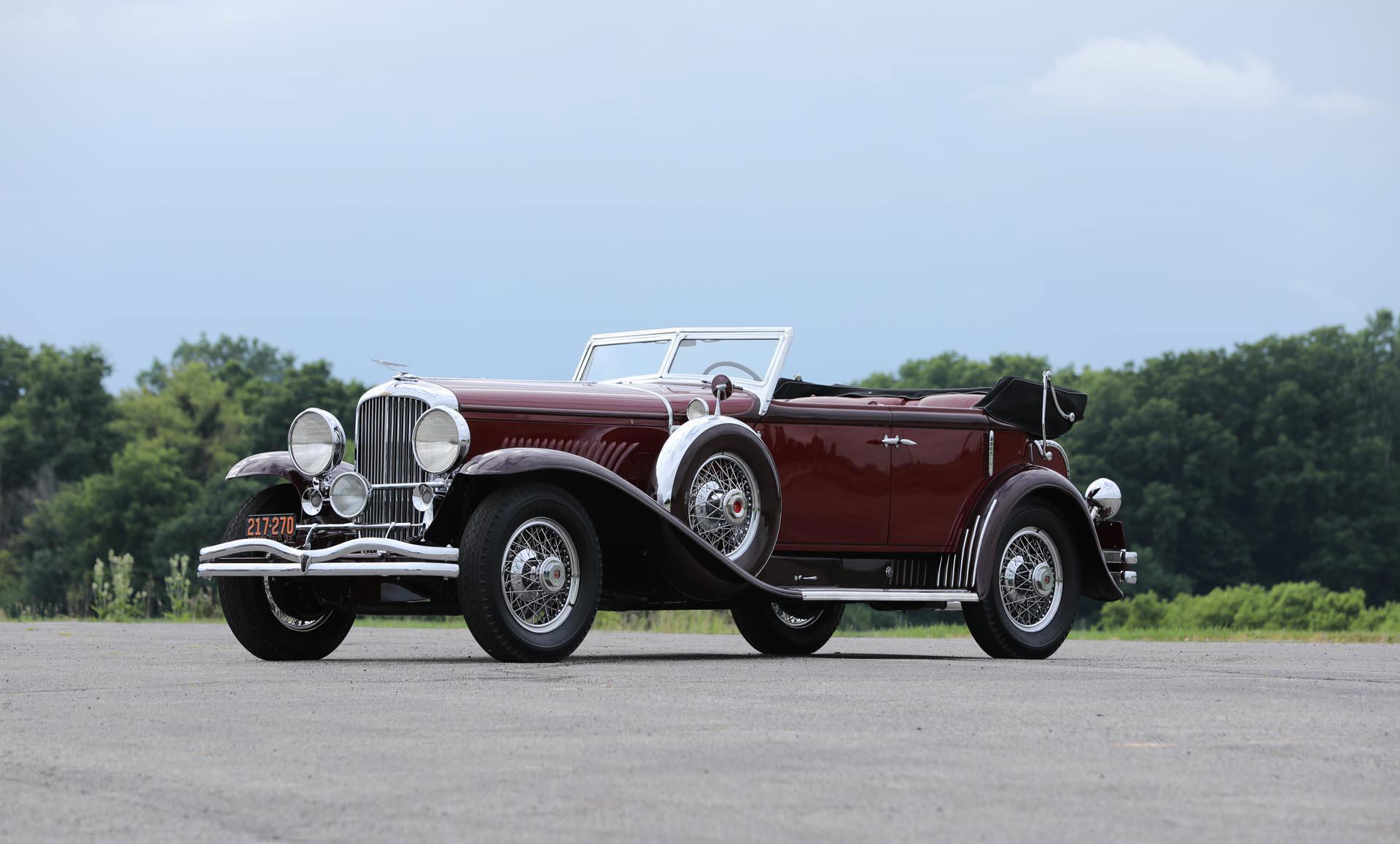 1931 Duesenberg Model J SWB Sport Convertible Sedan