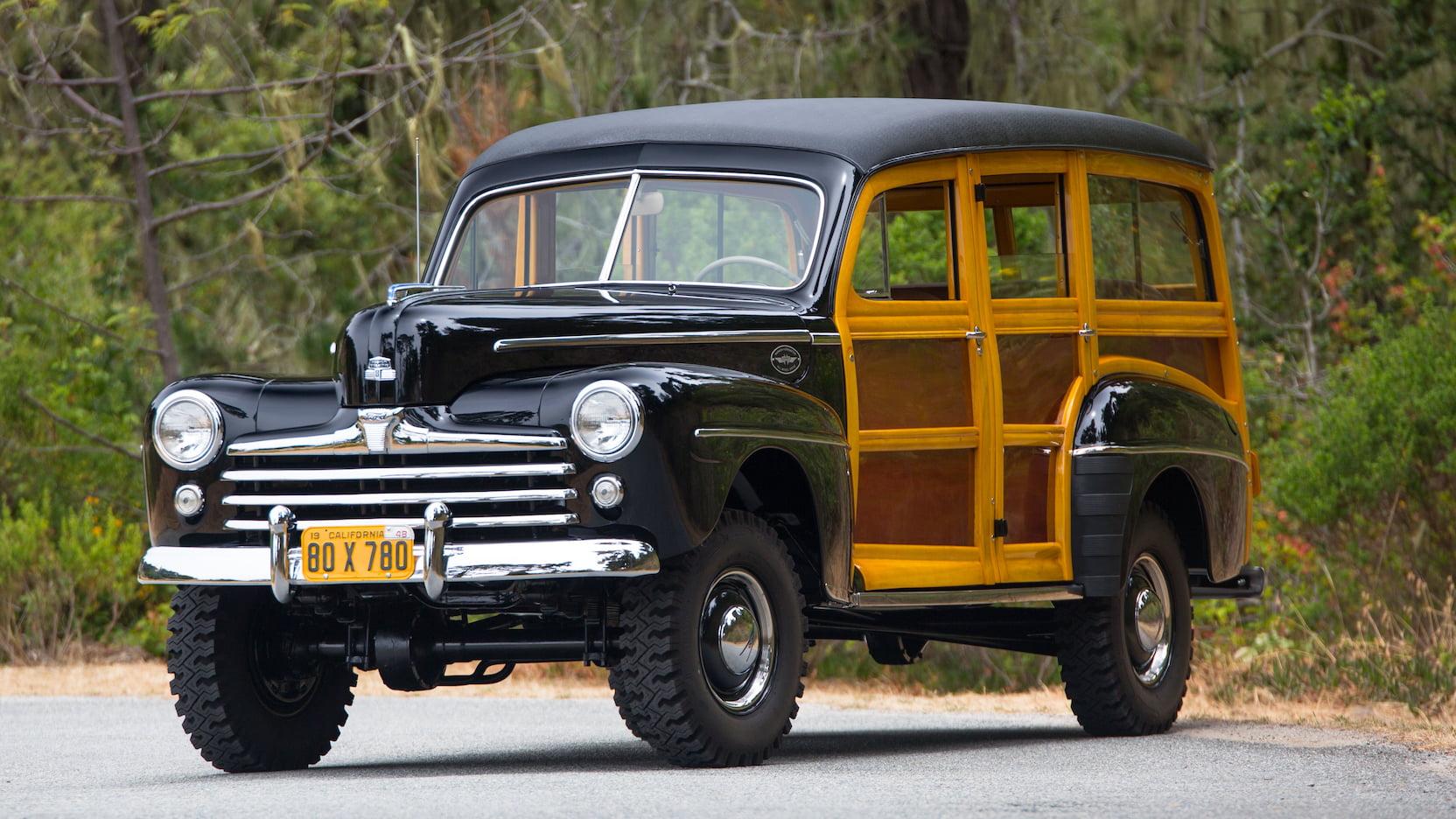 1948 Ford Super Deluxe Marmon - Herrington Woody Wagon
