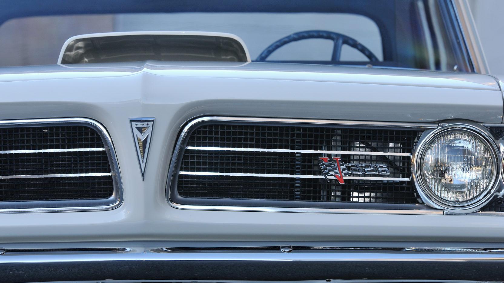 1963 Pontiac Tempest Super Duty front grill