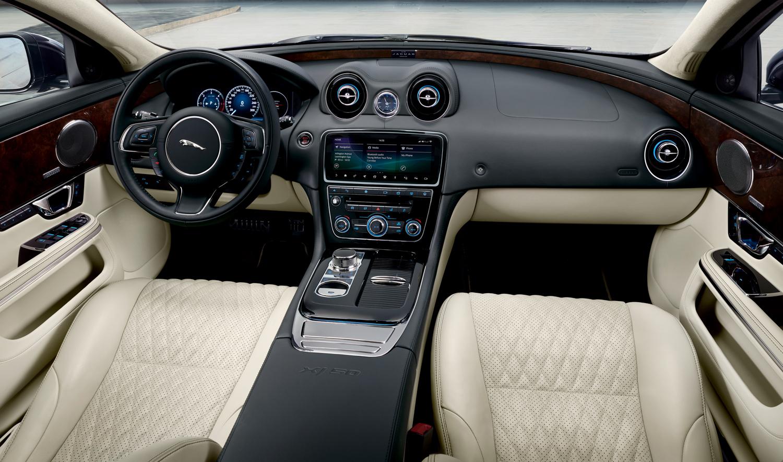 2019 Jaguar XJ50 interior