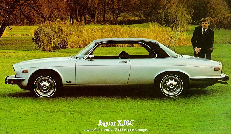 1975 Jaguar XJ6C Advertisement