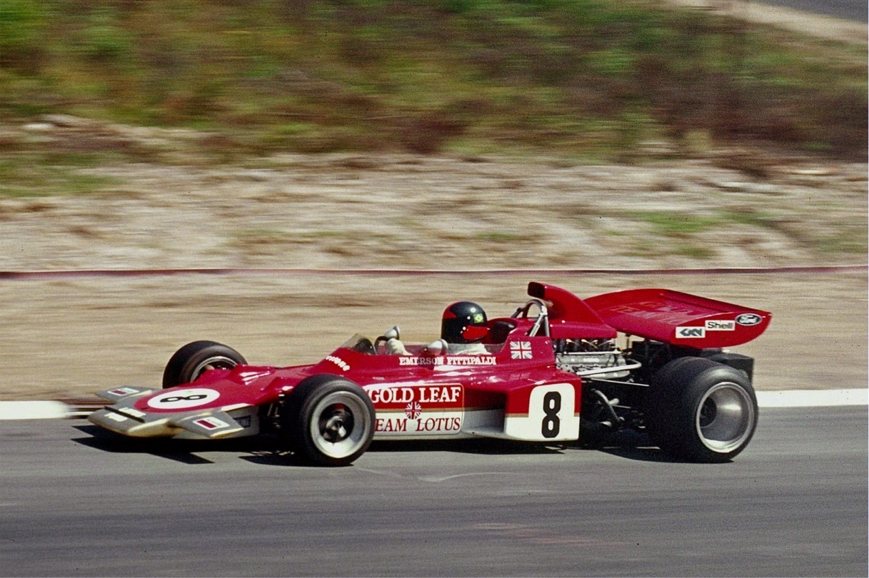 1971 Lotus 72 race car F1
