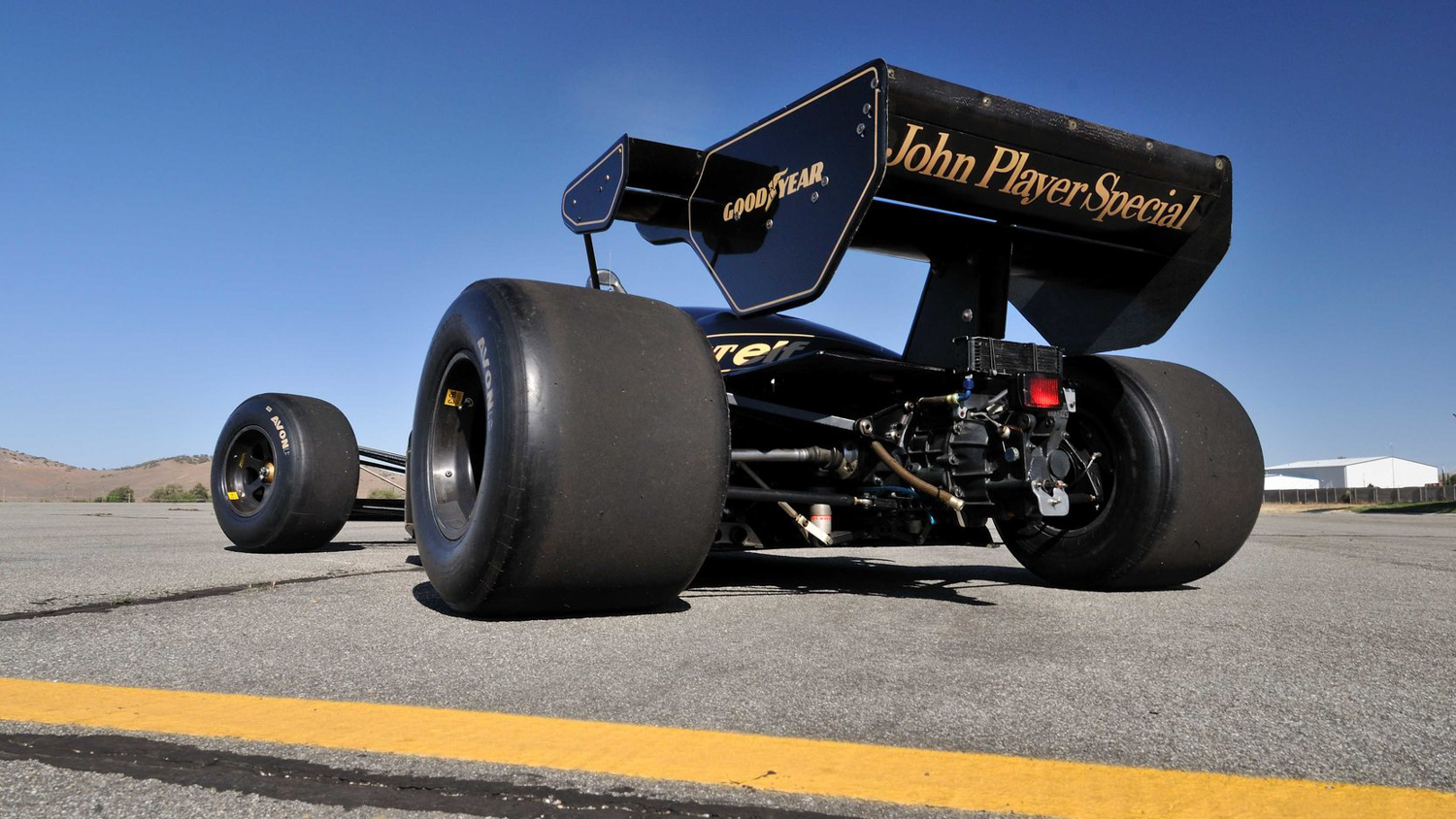 1984 Lotus Type 95T low 3/4 john player special