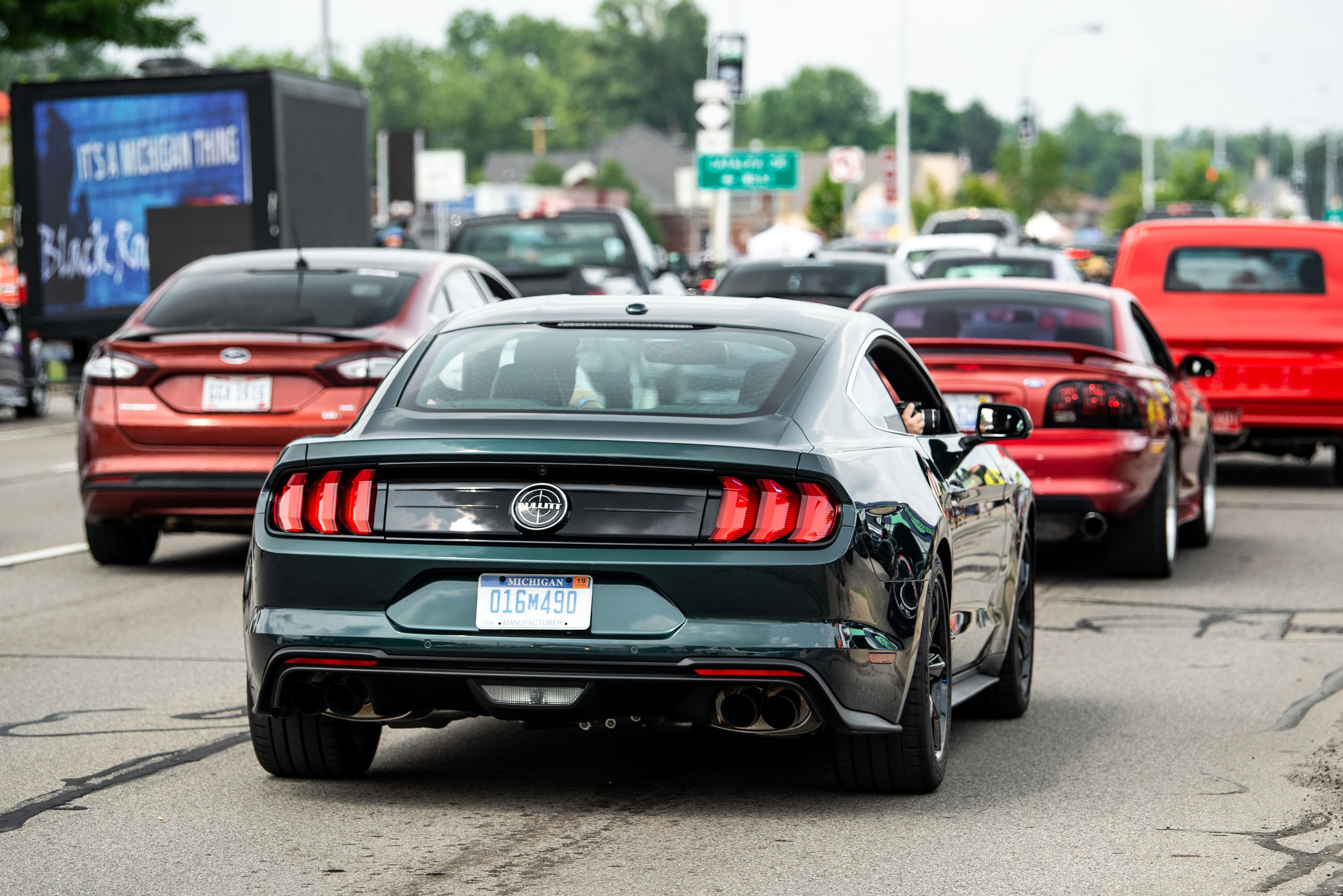 woodward dream cruise 2019 mustang bullitt