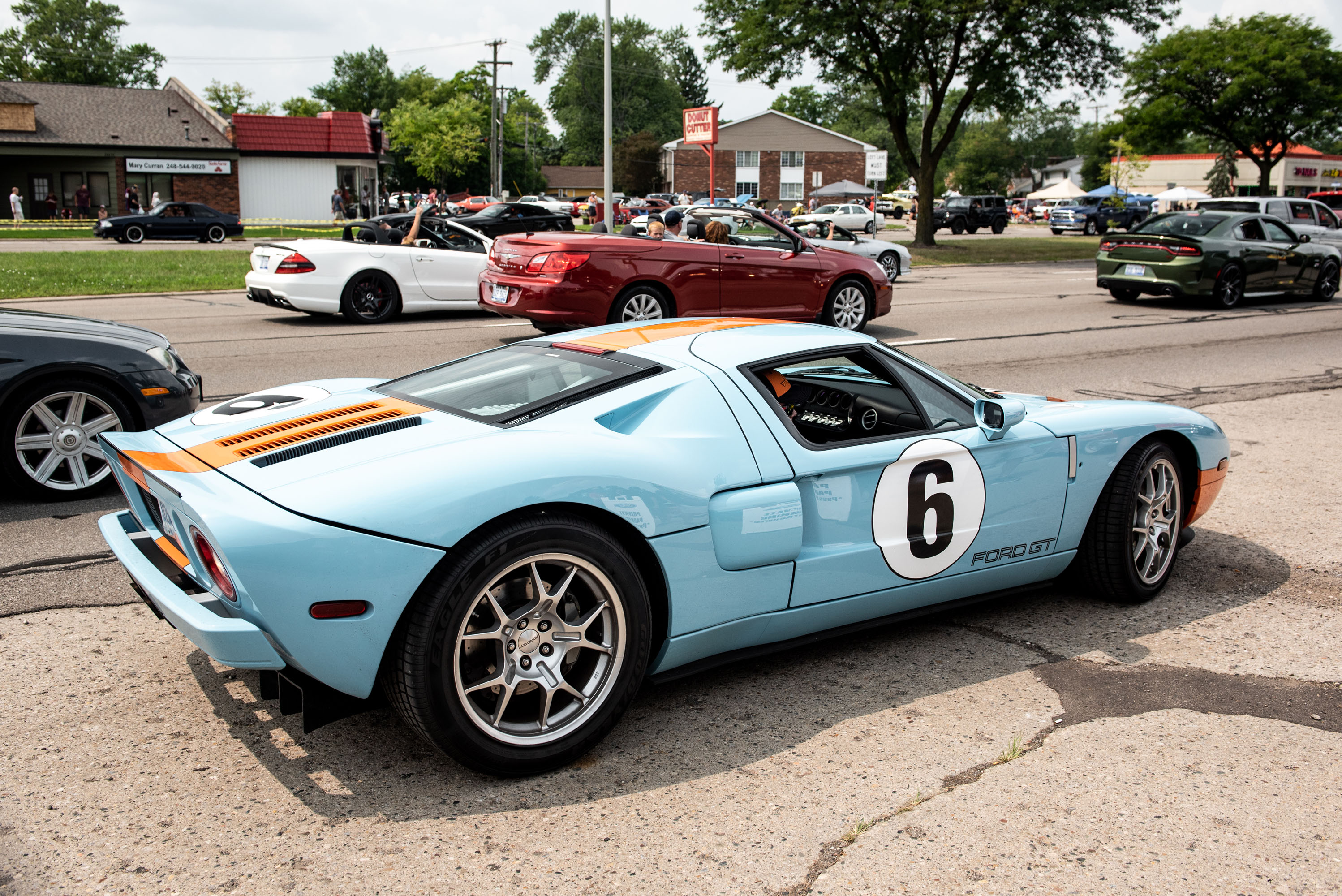 woodward dream cruise 2005 ford gt gulf GT40