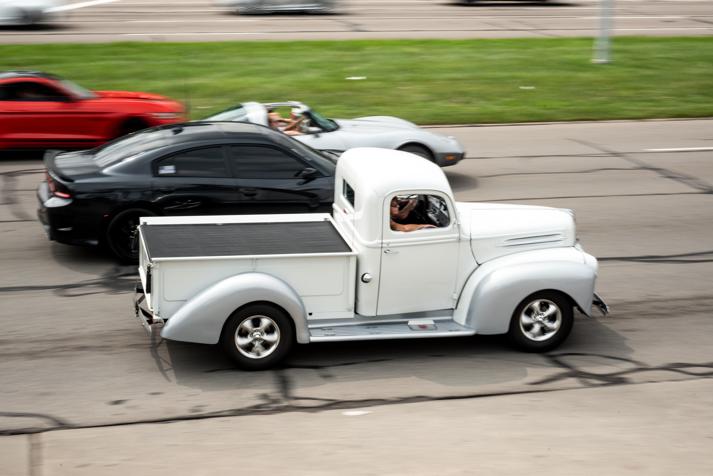 woodward dream cruise 46 ford pickup