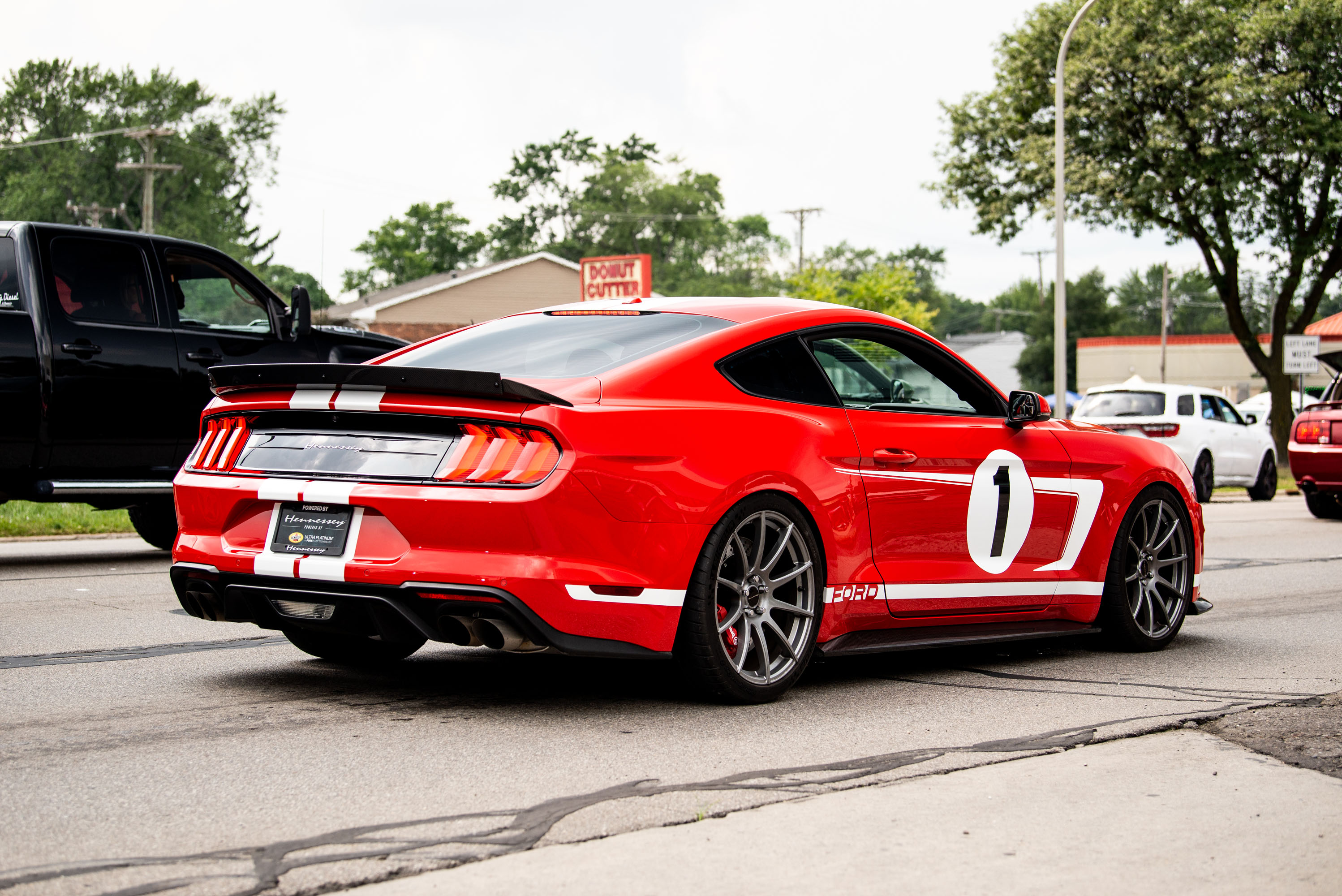 woodward dream cruise Hennessy ford mustang 1000 hp