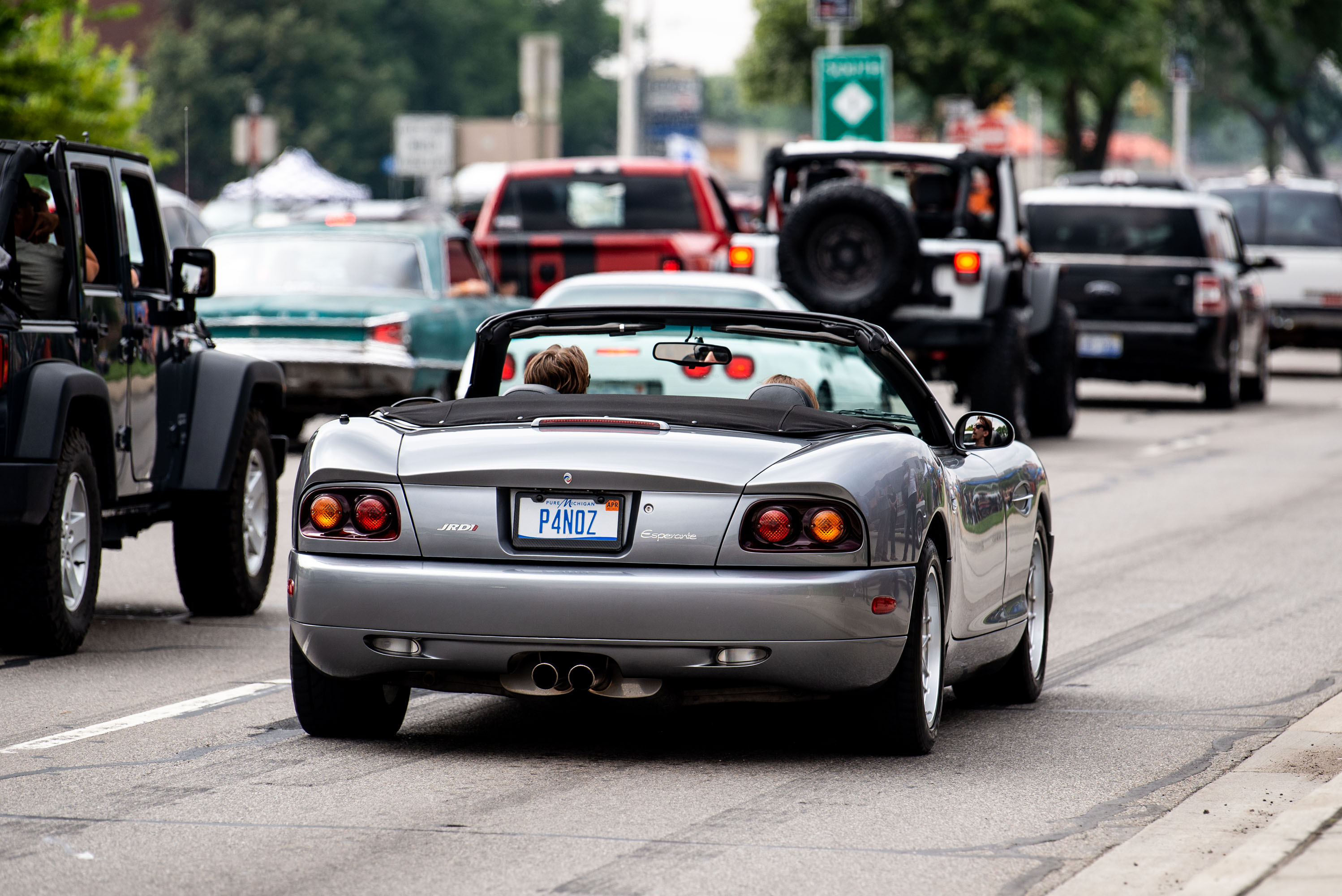 woodward dream cruise panoz esperante