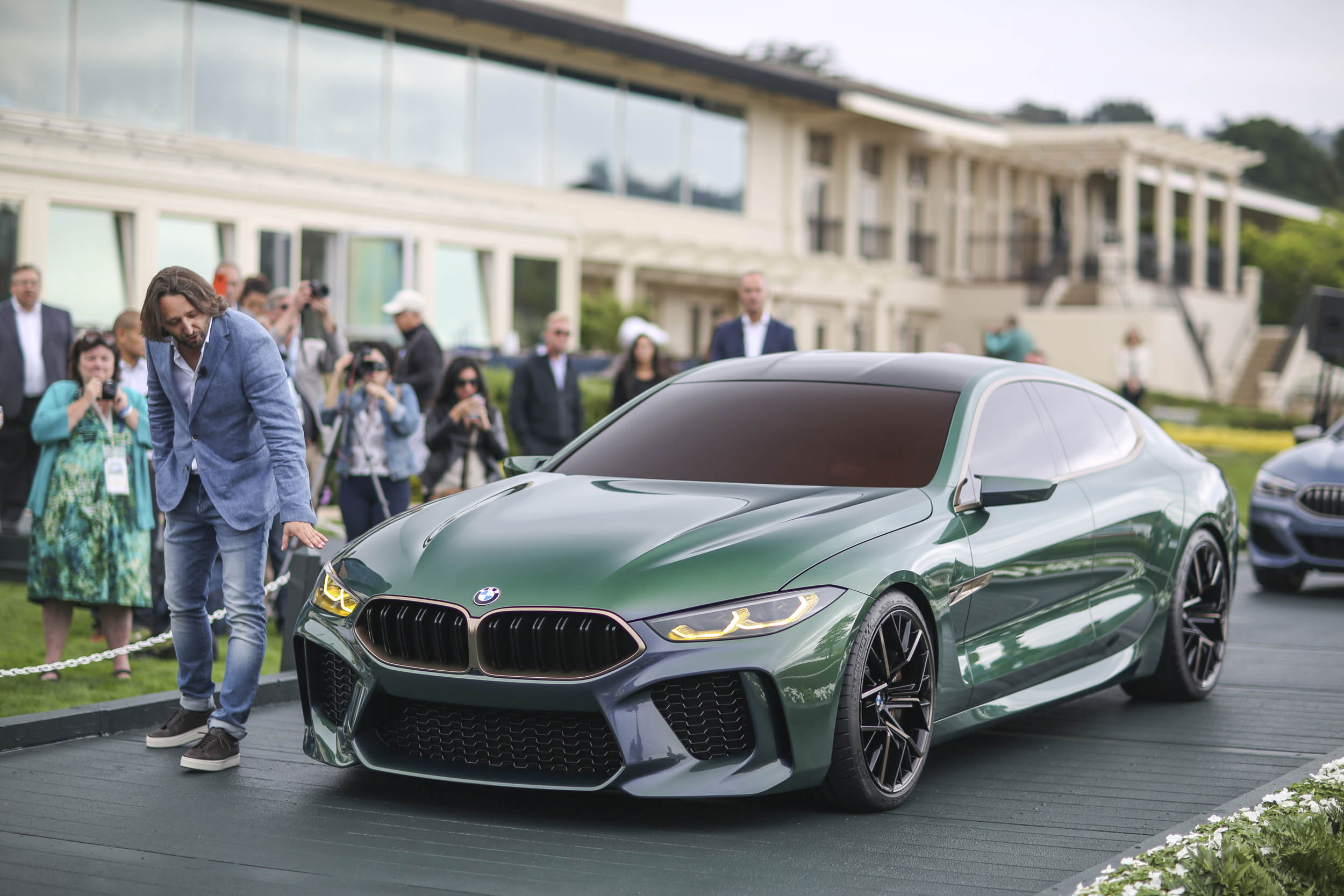 BMW M8 Gran Coupe unveil