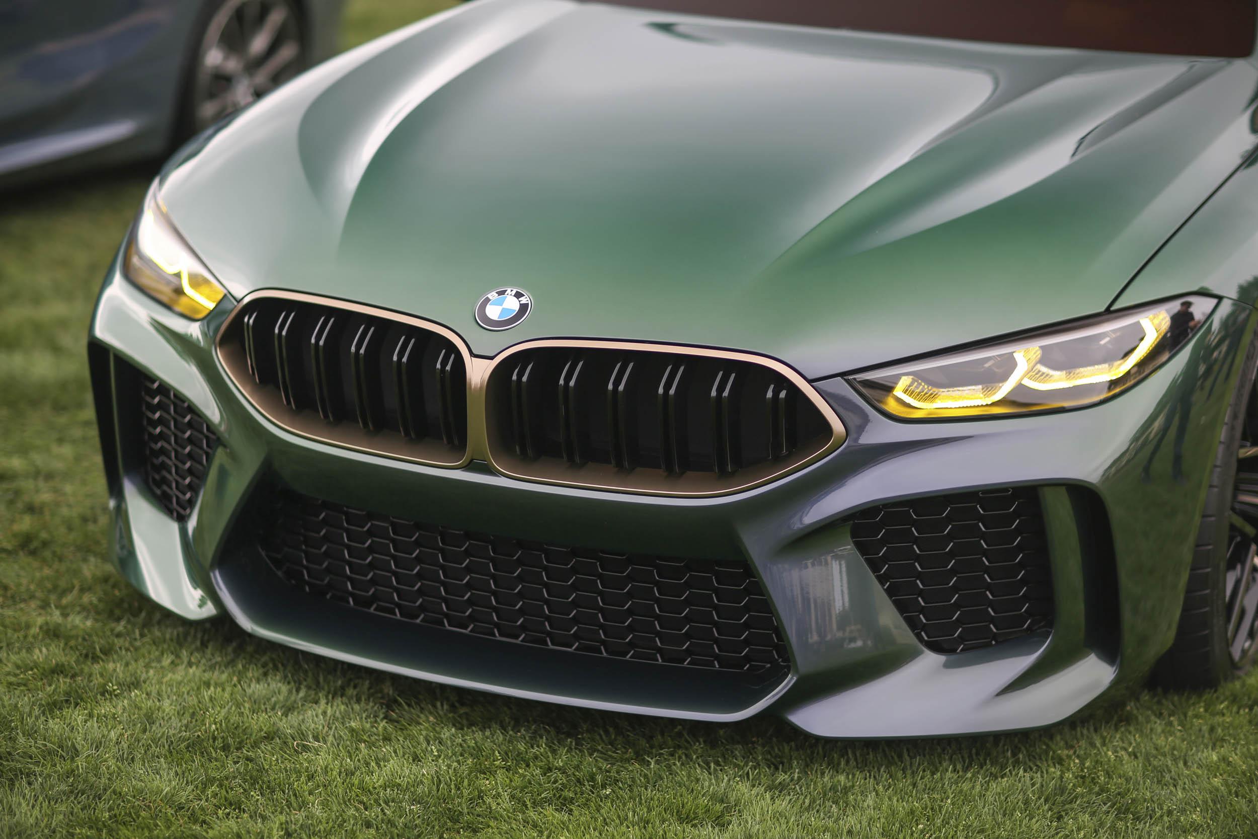BMW M8 Gran Coupe nose