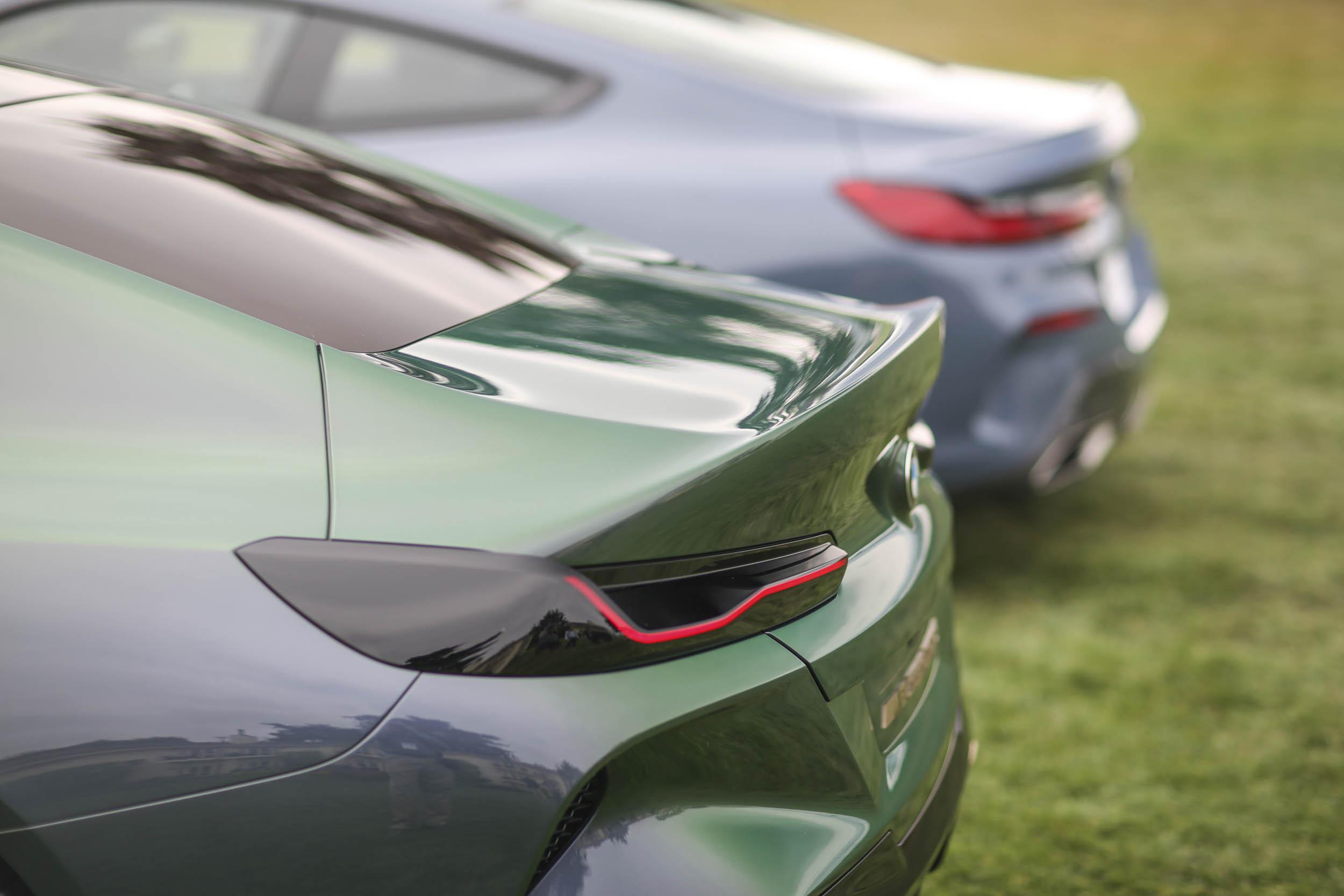 BMW M8 Gran Coupe tail