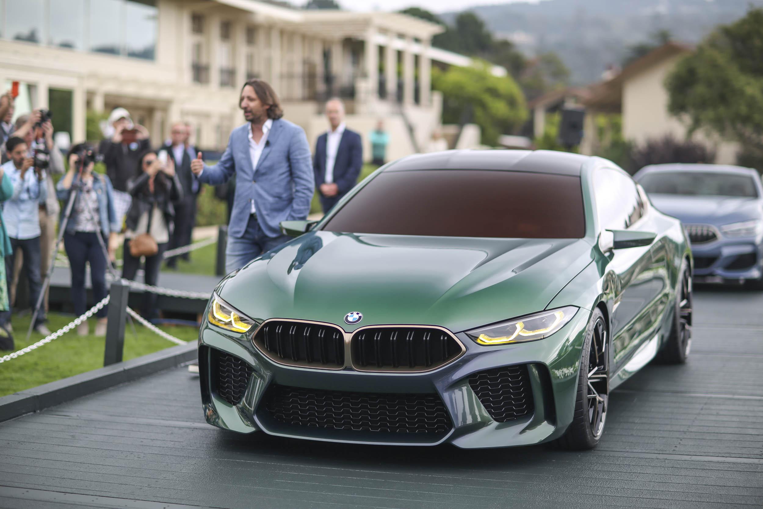 BMW M8 Gran Coupe Pebble Beach unveil