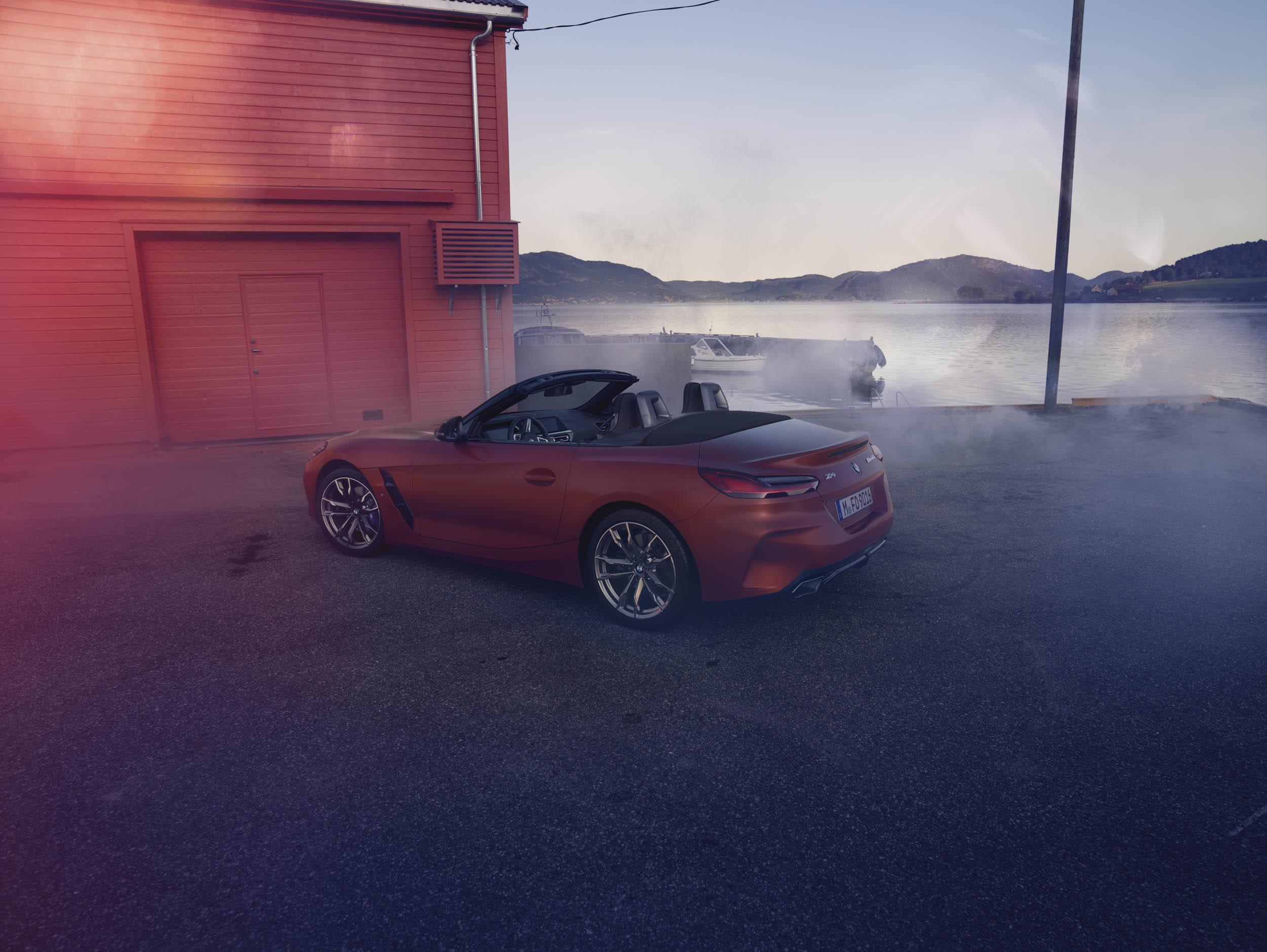 BMW Z4 rear 3/4