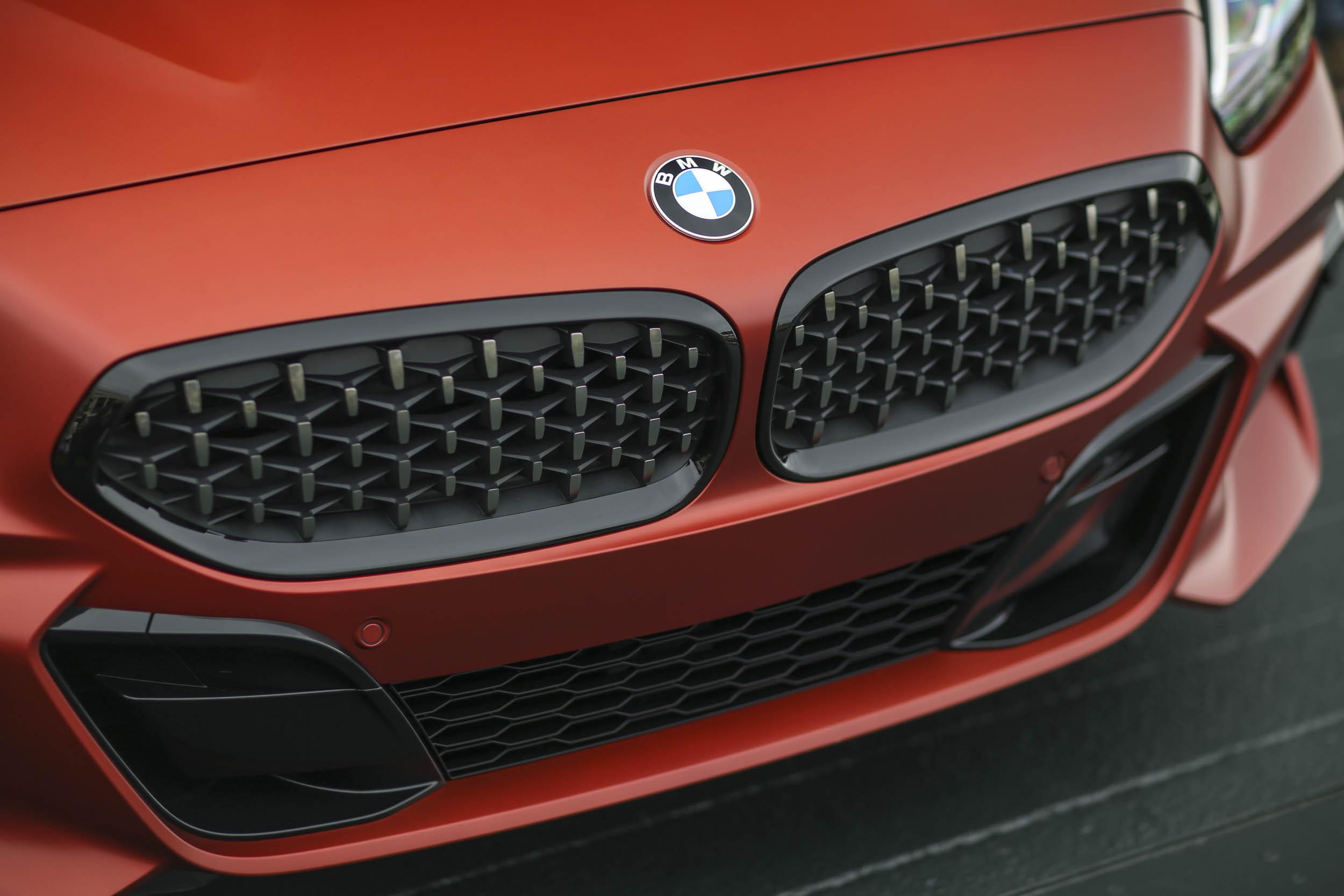BMW Z4 M40i grille detail