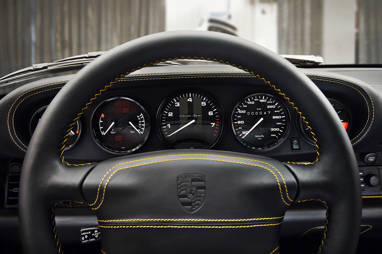 "Porsche ""Project Gold"" 993 Turbo gauges"