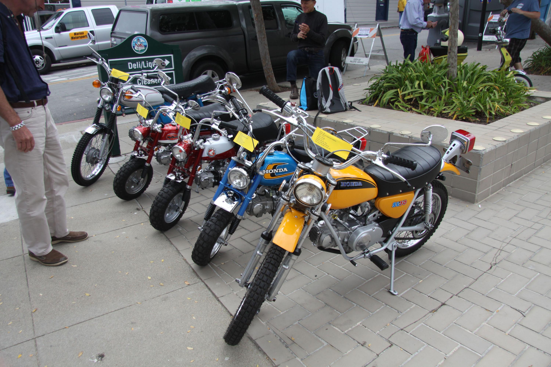 little car show honda minibikes trail 50 70 90
