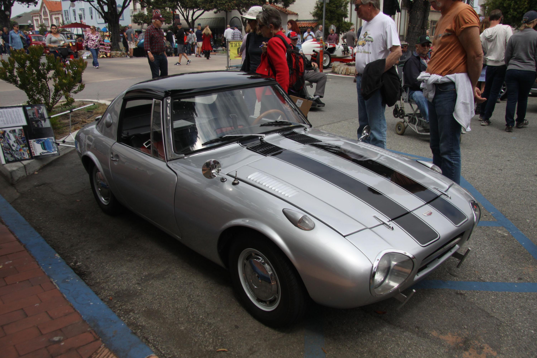 little car show toyota sports car