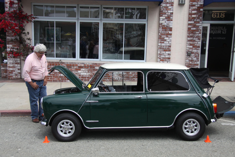 Little car show mini cooper