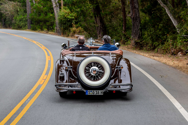 1935 Mercedes-Benz 540K rear