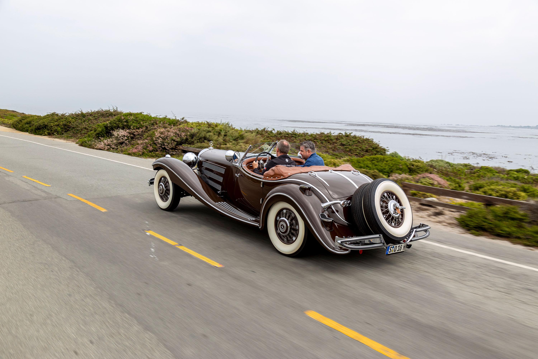 1935 Mercedes-Benz 540K rear 3/4