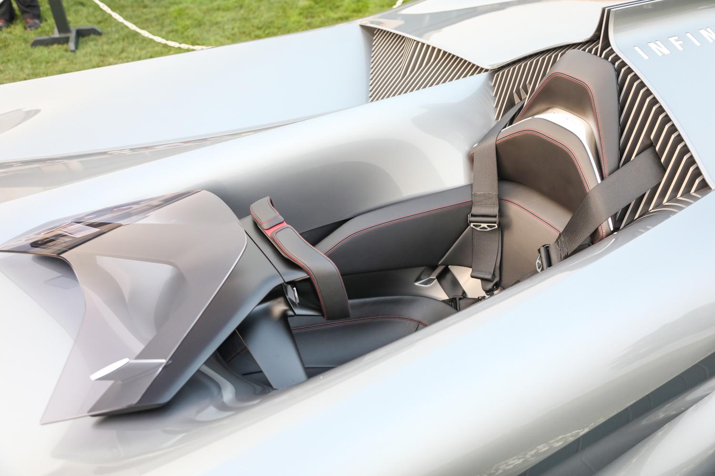 Infinity Prototype 10 cockpit