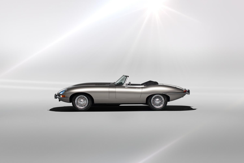Jaguar E-type Zero side profile