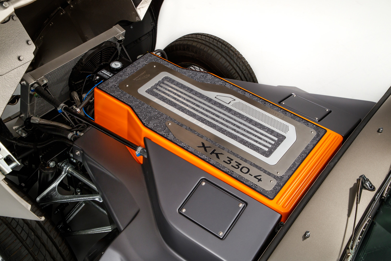 Jaguar E-type Zero electric motor