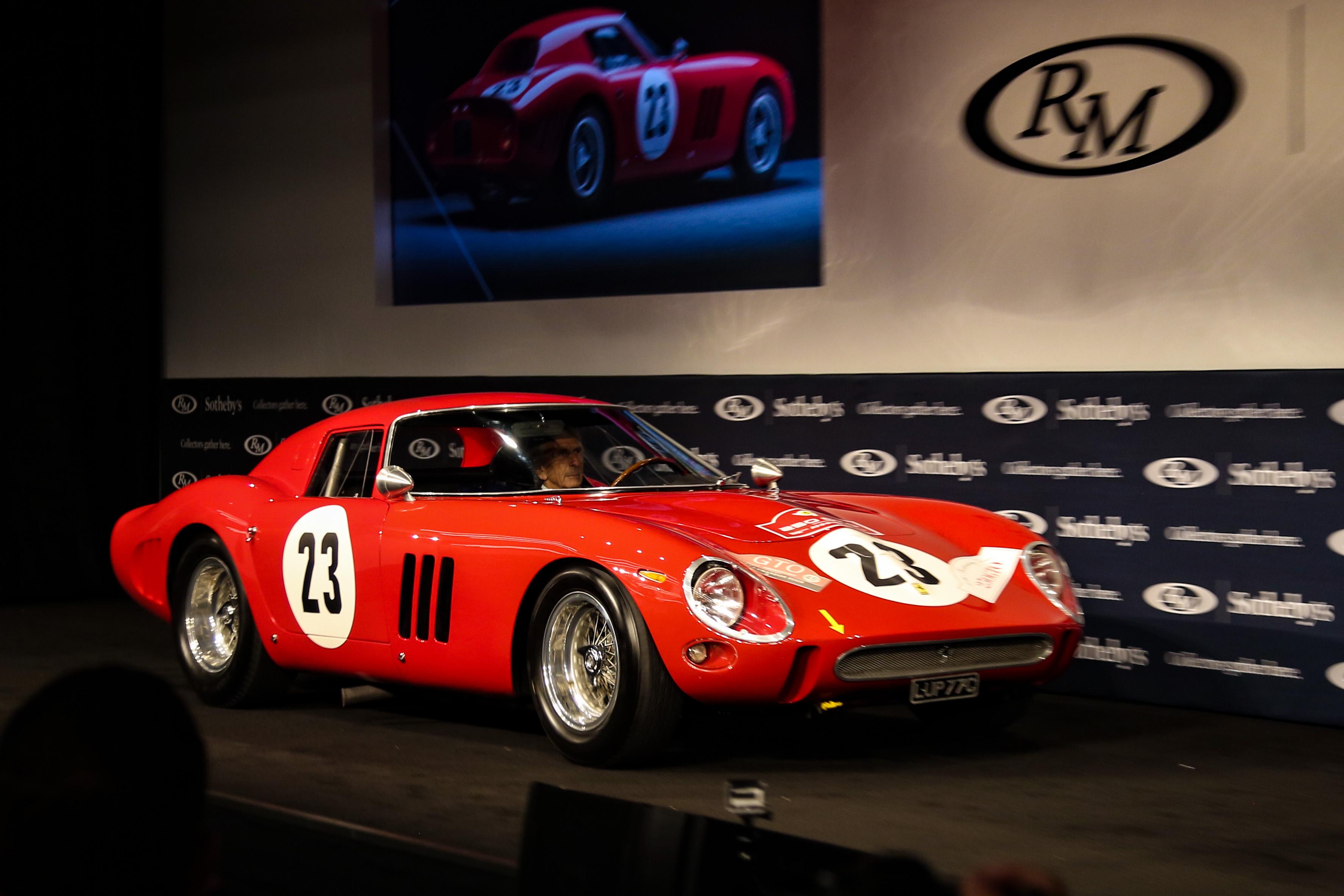 1962 Ferrari 250 GTO Monterey Car Week