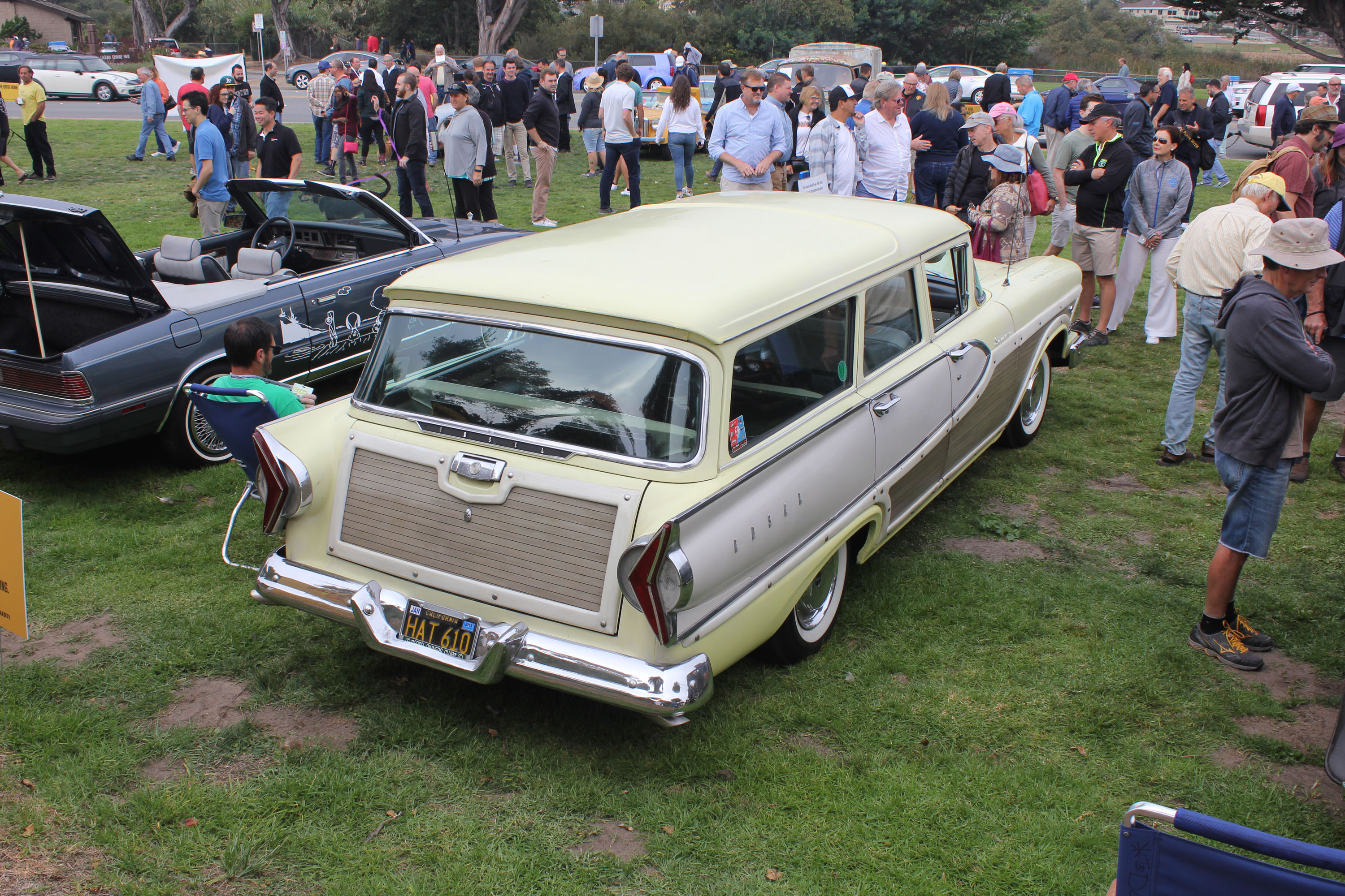 2018 concours lemons monterey donna reed edsel wagon