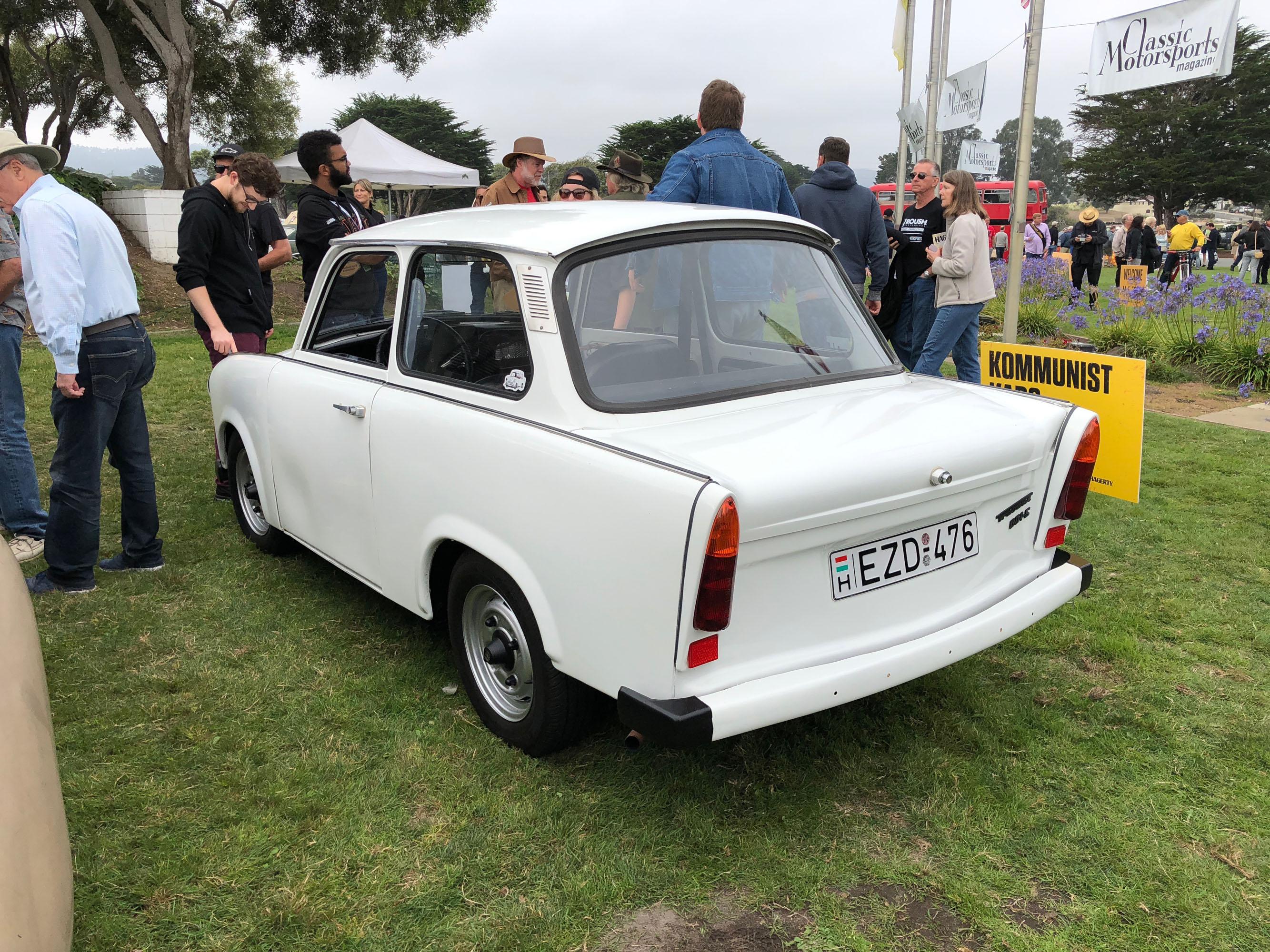 trabby 2018 concours lemons monterey seaside