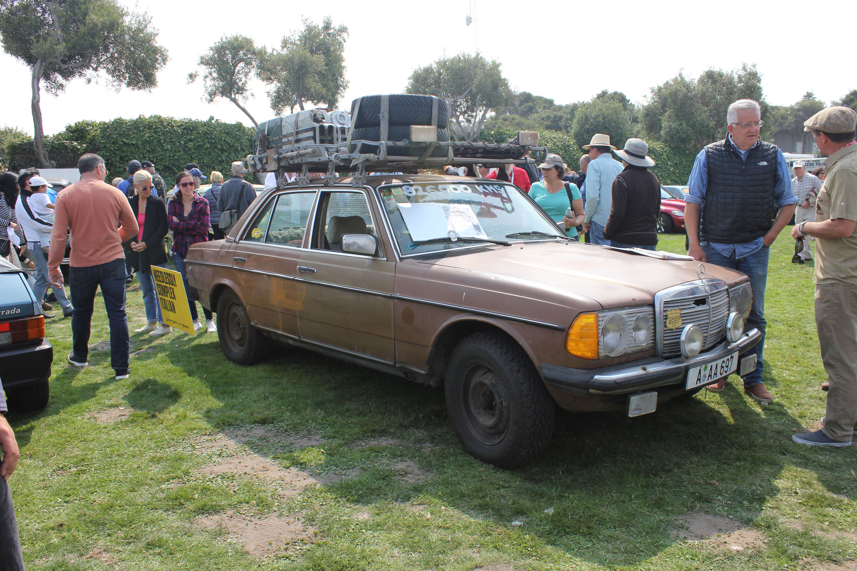 2018 benz world wide brown concours lemons monterey