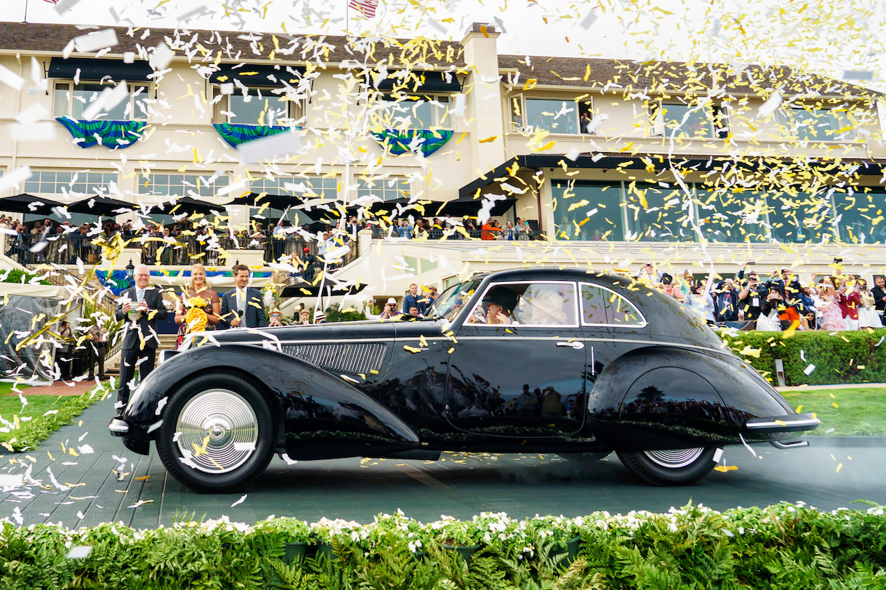 1937 Alfa Romeo 8C 2900B wins 2018 Pebble Beach Concours Best in Show thumbnail