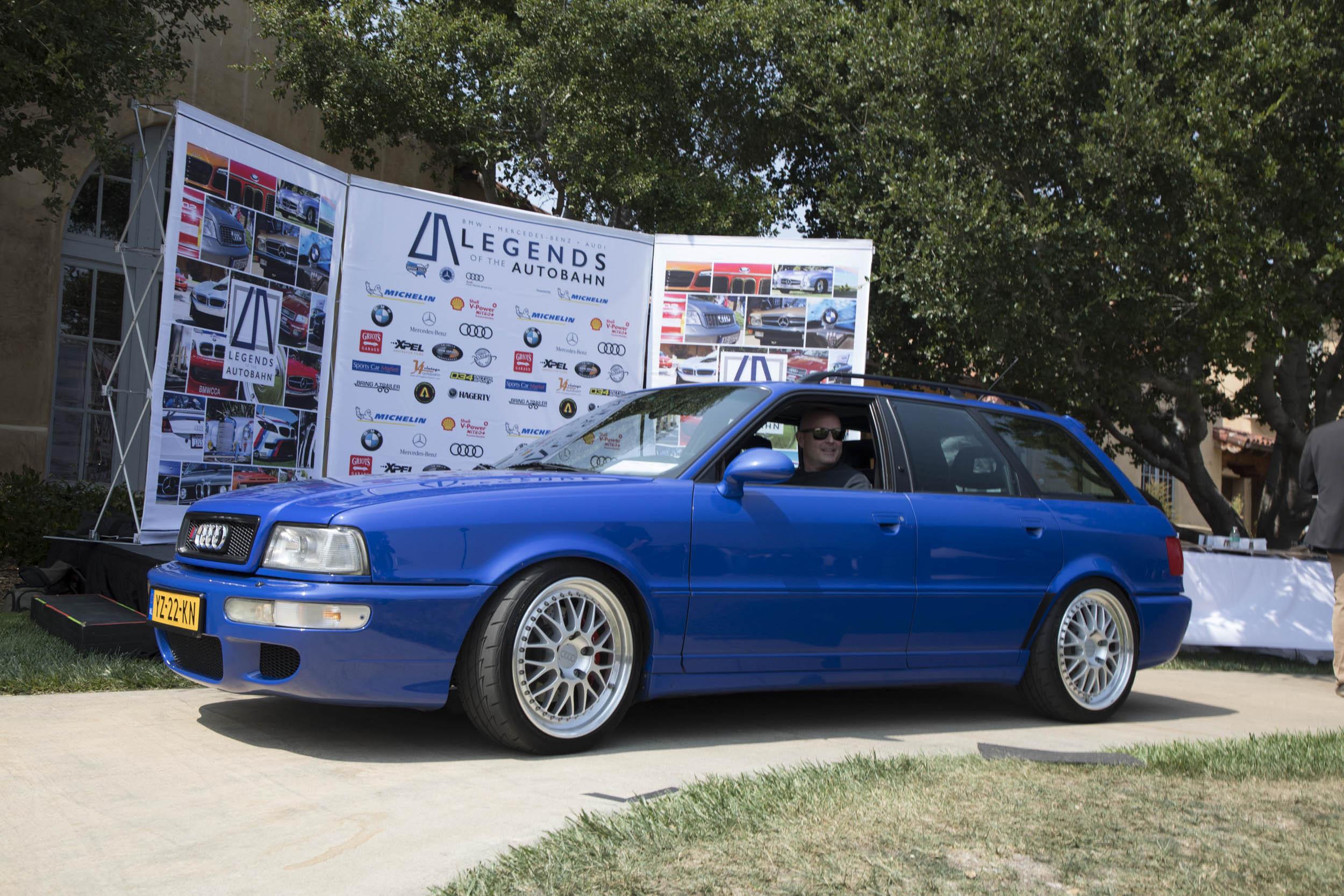 2018 Legends of the Autobahn Audi class winner