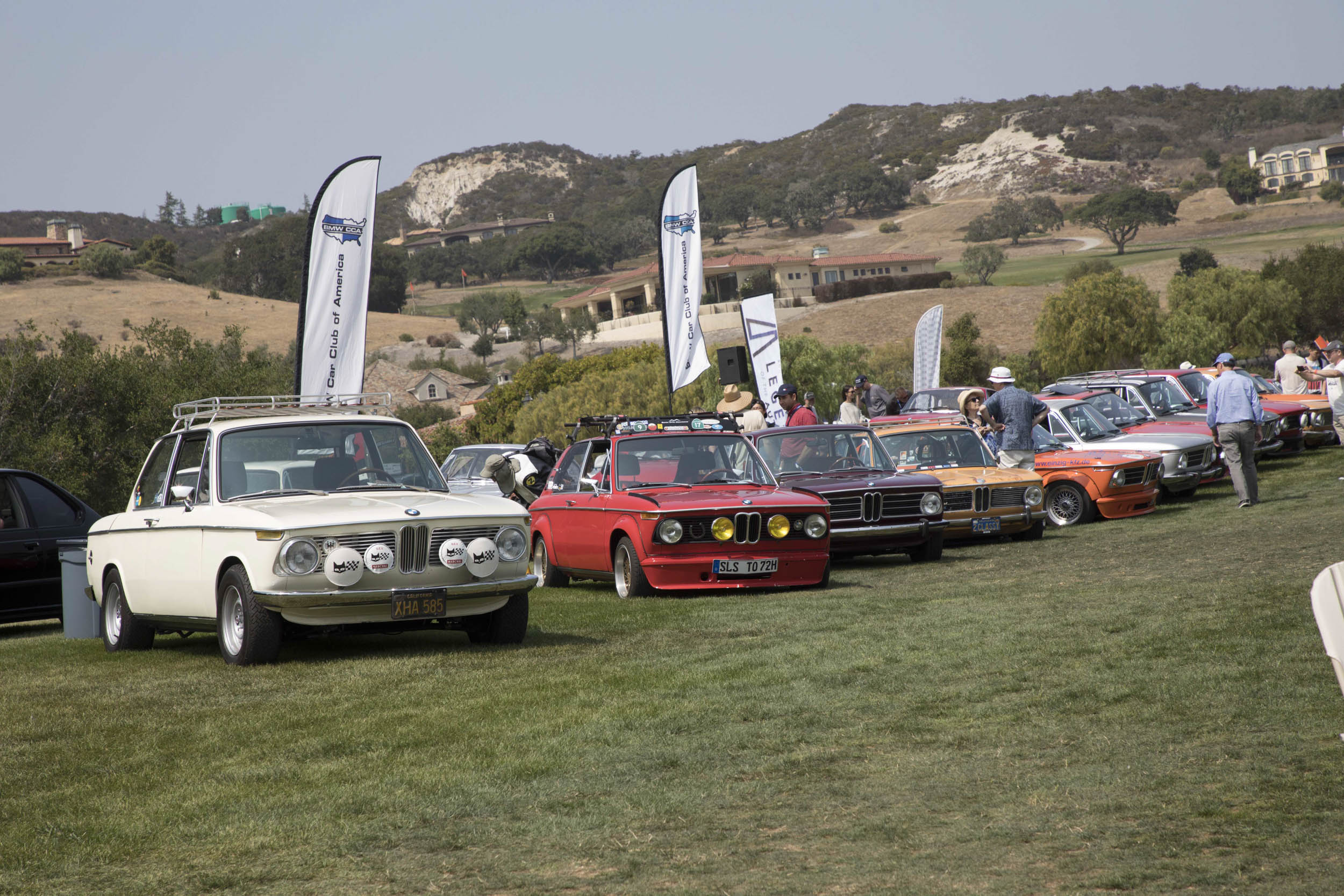 To celebrate the 50th anniversary of the BMW 2002, dozens of examples of the famous sedan, in stock and highly modified forms, ringed the show field at Legends of the Autobahn. The Hagerty People's Choice Award went to a 1971 2000tii Touring owned by Kaelin Thompson, a Legends veteran who drove up from San Diego.