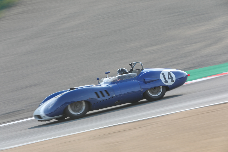 rolex reunion scarab race car