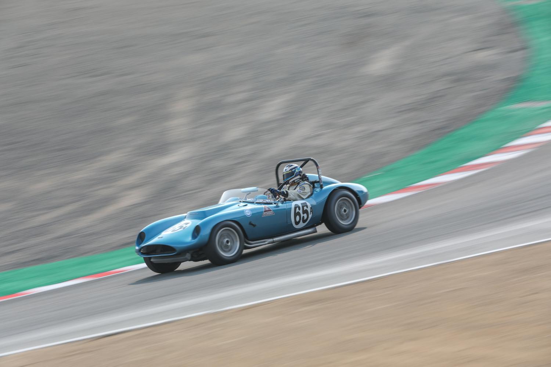 rolex reunion open header blue race car corkscrew