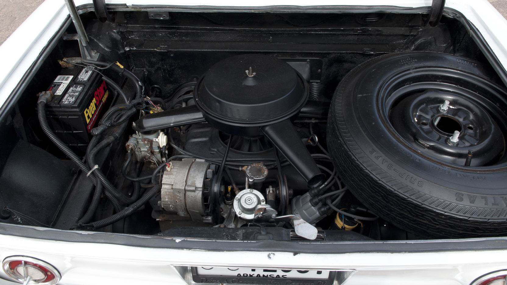Chevrolet Corvair engine rear