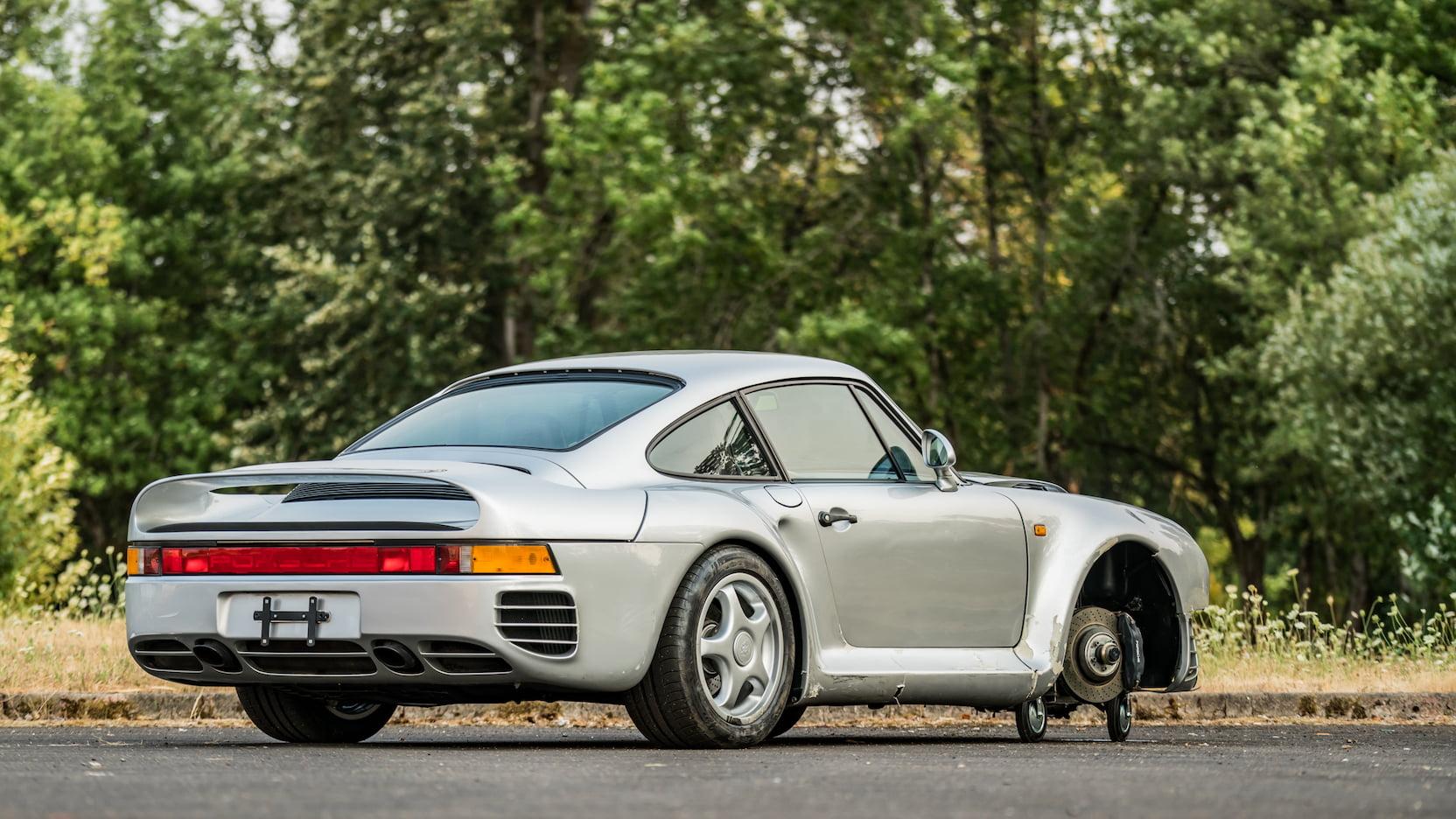 1987 Porsche 959 Komfort rear 3/4