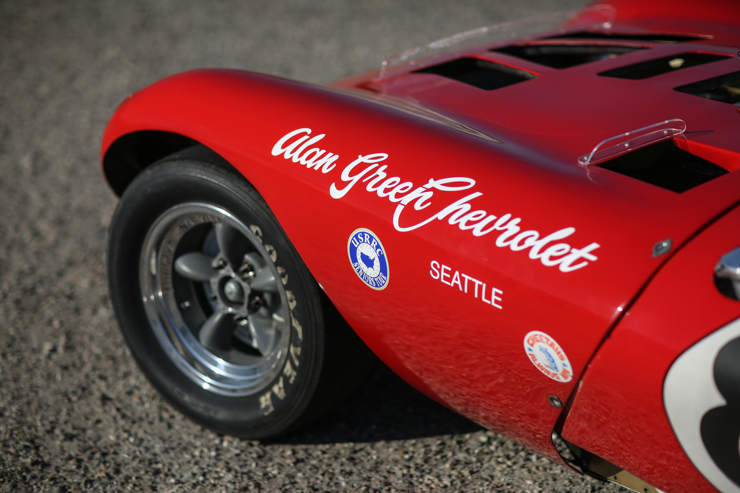 bill thomas cheetah front fender